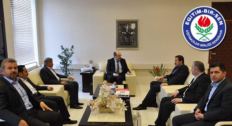 YÖK Başkanı Yekta Saraç'a Ziyaret