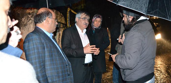 Aladağ'daki elim olayda hayatını kaybeden öğrencilerimiz için taziyede bulunduk