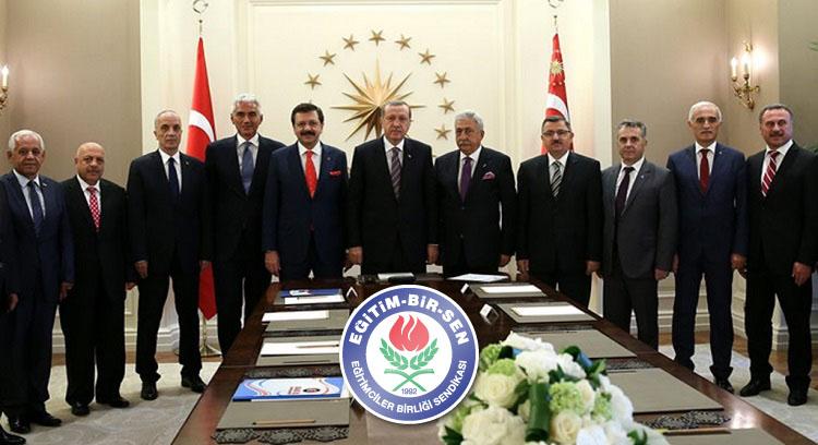 Cumhurbaşkanı Erdoğan'a Hayırlı Olsun Ziyareti