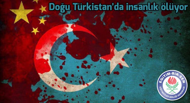 Doğu Türkistan'da insanlık ölüyor