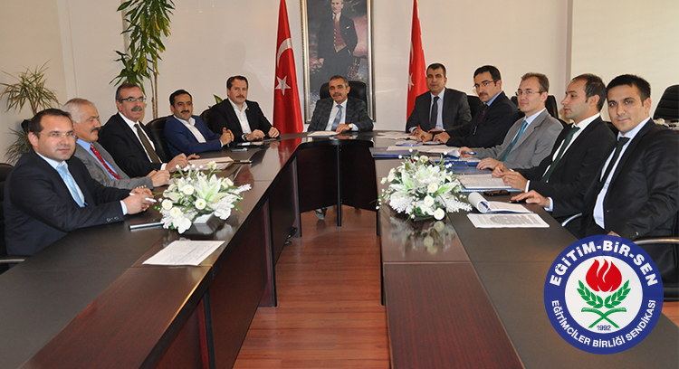 Sınav Görevi Ücretlerinin Artırılması İçin Devlet Personel Başkanlığı'nda Toplantı Yaptık