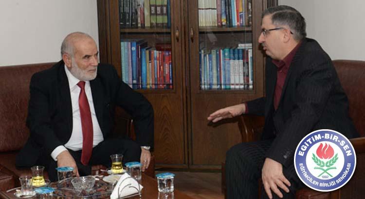 Filistin Meclis Başkanı Bahar: İyi ki Memur-Sen Var
