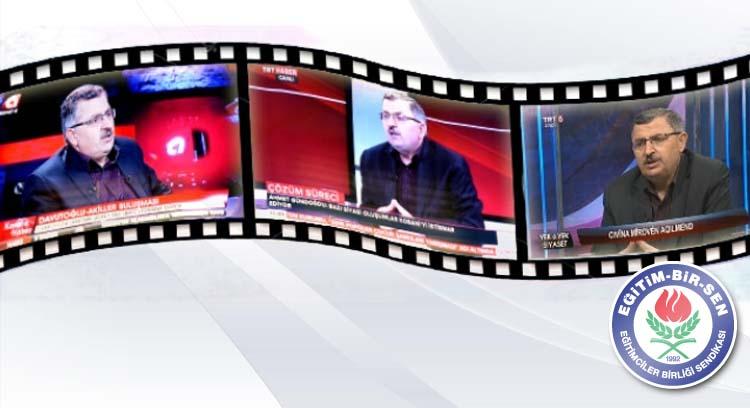 Gündoğdu, TRT Haber, Kanal A ve TRT 6'nın Konuğu Oldu