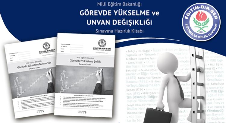 Görevde Yükselme Deneme Sınavı 6 Eylül'de Yapılacak