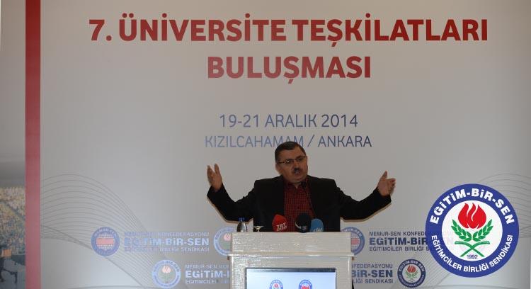 Üniversite Teşkilatları 15 Bin Yeni Üye Hedefiyle Kızılcahamam'da Toplandı