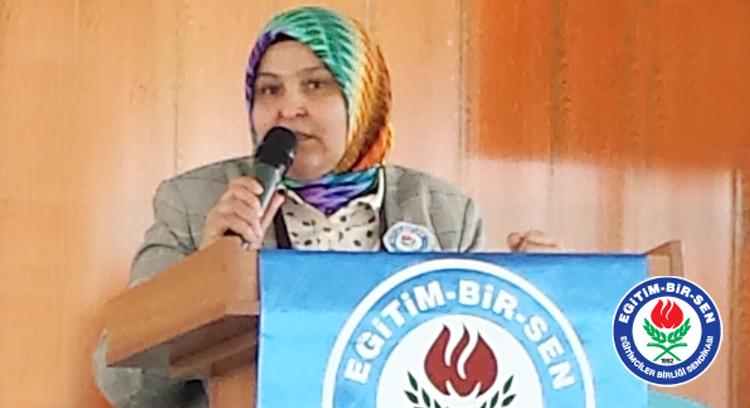 Öçal, Aydın'da 'Eğitimci Kadınlar Buluşması'na katıldı
