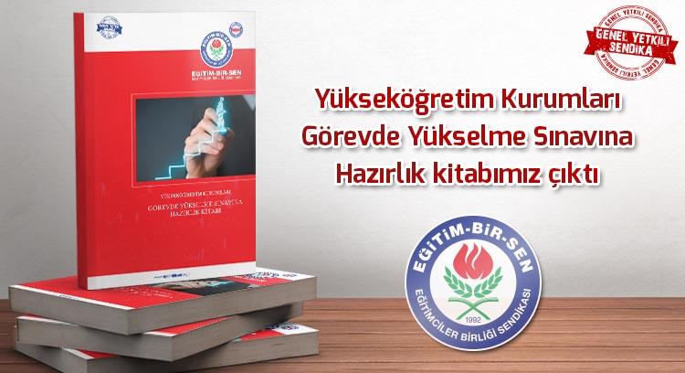 Yükseköğretim Kurumları Görevde Yükselme Sınavına Hazırlık kitabımız çıktı