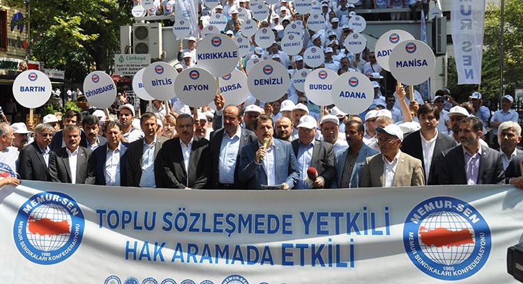 Memur-Sen'in '2016-2017 toplu sözleşme talepleri'