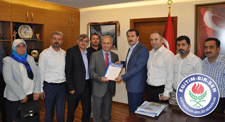 Toplu sözleşme taleplerimizi Devlet Personel Başkanlığı'na ilettik