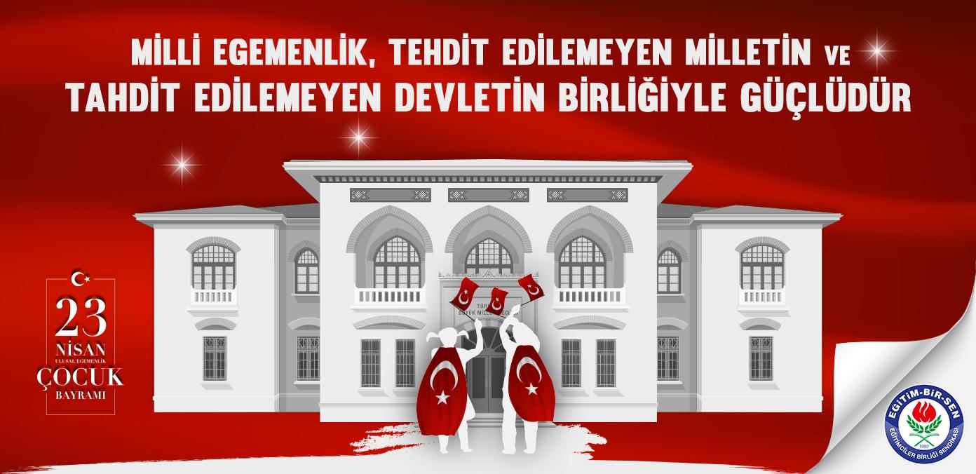 Milli egemenlik, tehdit edilemeyen milletin ve tahdit edilemeyen devletin birliğiyle güçlüdür