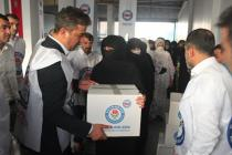 Cizre'de terör mağduru bin iki yüz aileye yardım ettik