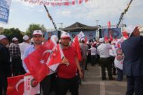Emeğin şanlı direnişçileri Urfa'da buluştu