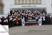 Öğretmen Performans Taslağını 81 İlde Protesto Ettik