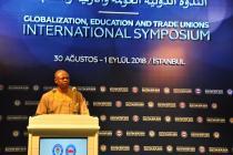 Uluslararası 'Küreselleşme, Eğitim ve Sendikalar' sempozyumu